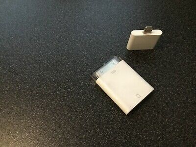 Apple IPad SD Card Reader A1362 With Adaptor A1468 To Use With Later IPad Models • 3.20£