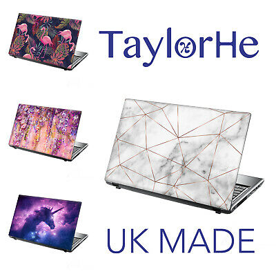 TaylorHe 15.6  Laptop Skin Cover Vinyl Sticker Decal FLORAL DESIGNS For Girls • 8.95£
