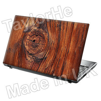 15.6  Laptop Skin Cover Sticker Decal Wood Knot 320  • 8.95£