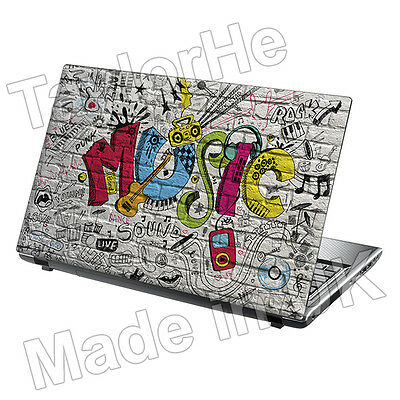 15.6  TaylorHe Laptop Vinyl Skin Sticker Decal Protection Cover 434 • 8.95£