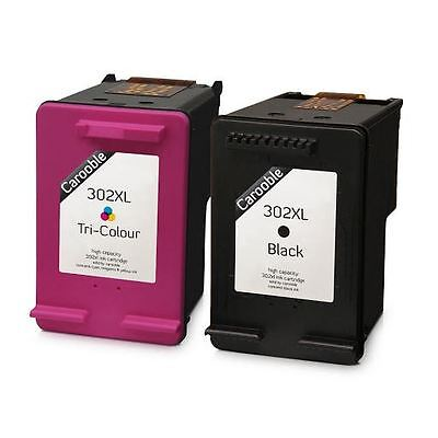 HP 302 XL Ink Cartridges Combo - Black & Colour - For HP Envy 4523 • 24.95£