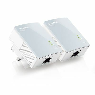 TP-Link TL-PA411KIT 500Mbps Nano Powerline Ethernet Adapter Home Plug Twin Pack  • 25.99£