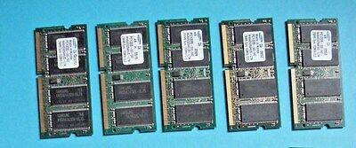 5x Cisco 1841 DRAM 256MB For Upgrade To 384MB (Max DRAM) CCNA CCNP CCIE • 39.99£