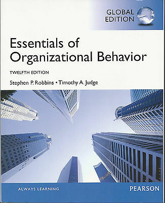 Essentials Of Organizational Behavior By Stephen P Robbins, Timothy A Judge 2013 • 36.97£