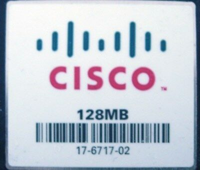 Cisco 128MB Flash Or Cisco 128MB Compact Flash CF Card CCNA CCNP CCIE • 14.99£