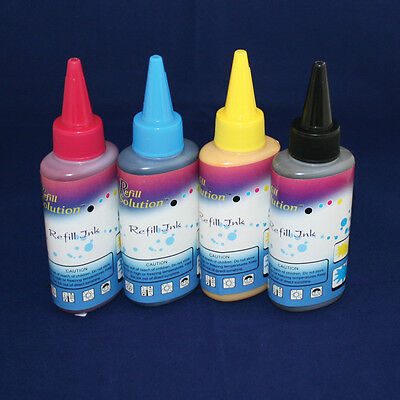 400ML Quality Pigment Ink Set For Canon Printer Refillable Cartridge & CISS • 19.90£