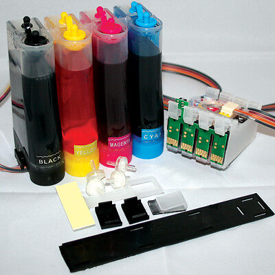 CISS Ink System For With Epson XP-432 XP-435 XP-442 XP-445  W/INK 29XL Non-oem • 39.90£