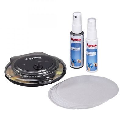 Hama CD DVD & Game Disc Scratch Remover Cleaning Repair Kit System Machine • 14.99£