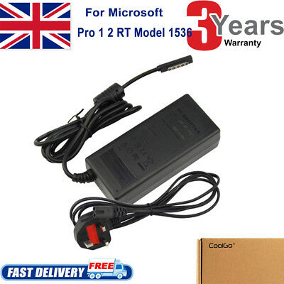 Charger For Microsoft Surface, 2, Pro & Pro 2 - AC Power Supply Adapter • 9.99£