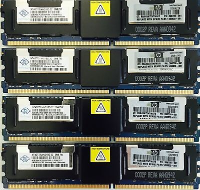 Memory Ram DDR2 PC2  5300F 667 MHz 240 ECC Fully Buffered Dell Mac IBM HP LOT • 11.30£