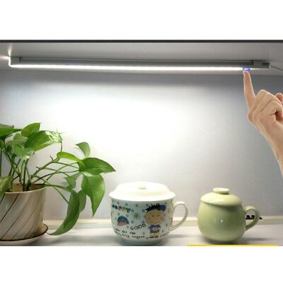 Cool White USB Touch Light Tube For Closet, Wardrobe, Desk, Furniture Cabinet • 5.73£