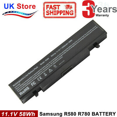 Laptop Battery AA-PB9NC6B For Samsung NP-R519 R530 R580 RV510 R730 R780 R418 CL • 14.99£