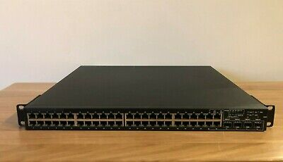 Dell PowerConnect 6248 Dell 48-Port Gigabit Network Switch With Brackets • 109.99£