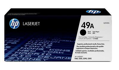 Genuine HP Q5949A Black Toner Cartridge Open Laserjet 1160 1320 VAT Included • 23.61£