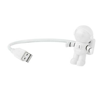 Spaceman Shape USB LED Night Light Astronaut Mini Flexible Adjustable Desk Lamp  • 6.99£