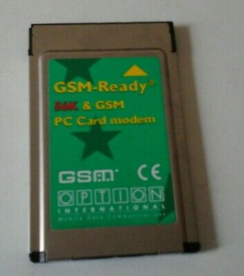 Vintage GSM-Ready 56K PC Card Modem For Mobile Phones Ericsson 600/700 PC70K11 • 25.95£