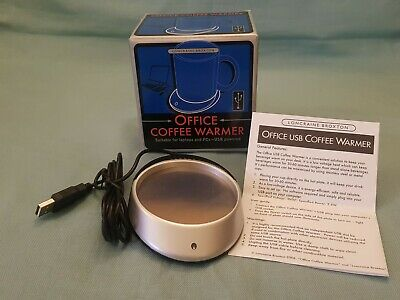 Loncraine Broxton USB Powered Tea Coffee Mug Warmer Heater Desktop Laptop BNIB • 5.99£