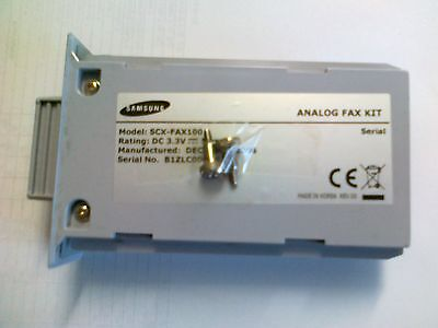 Samsung Analogue Fax Kit Model: Scx-Fax 100 For 6345 N • 37.84£