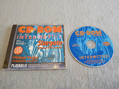 CD-ROM Interactive Demo Disc - Disc 6 March 1995 - Retro PC Gaming • 6£