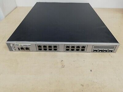 A10 Networks AX3000-GC - Load Balancer - 2.6.1-GR1-P7.51 • 899.99£