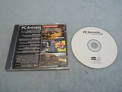 PC Answers Demo Disc - April 1996 - Retro PC Gaming • 6£