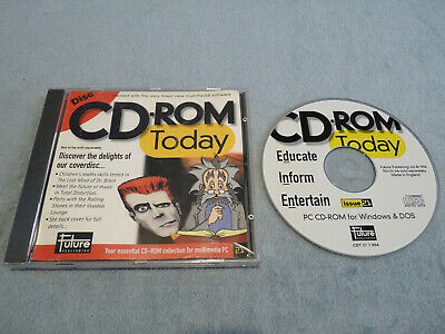 CD-ROM Today Demo Disc - January 1996 - Retro PC Gaming • 6£