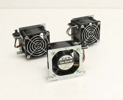 3x San Ace 60MM EMC Node FanLsilon S200 Storage Server 9G0612P1G22 403-0070-01 • 19.64£