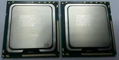 Matched Pair Of Intel Xeon X5680 3.33GHz Six Core SLBV5 Processor W/Grease • 56.64£