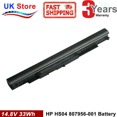 Battery HS04 For HP 250 G4 Laptop 807956-001 807957-001 HS03 HS03031 HSTNN-LB6V • 15.99£