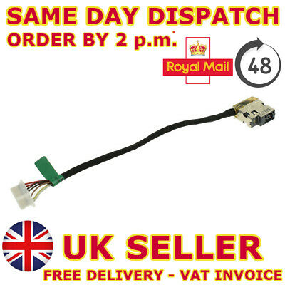 DC Jack Power Cable For Hp 15-ac121na 15-ac123na Charging Wire Socket Connector • 6.28£