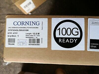 Corning MTPF To MTPF Fibre Optic Trunk • 225£