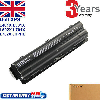 Battery For Dell XPS 14 15 17 L401x L501x L502x L701X L702X JWPHF WHXY3 R795X CG • 12.89£