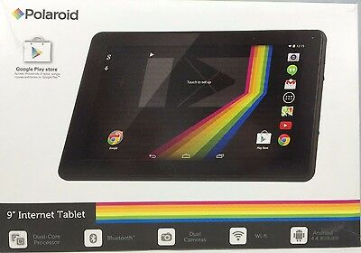 Polaroid PTAB935 - 8 Gb Tablet - 9 - Wireless Lan Arm Cortex A9 1.50 Ghz 1 GB • 60.62£