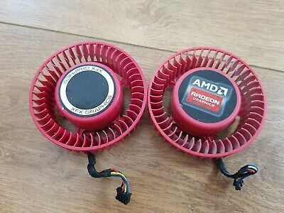 2x AMD GPU DC Brushless Fan Model FD7525U12D • 14£