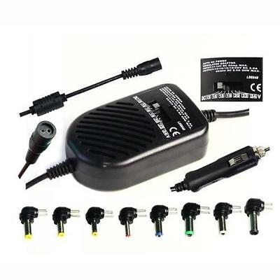 Universal 80W DC Auto Car Power Charger Adapter For Laptop Notebook Computer • 9.49£