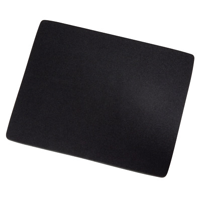 Hama Black Mouse Mat Pad Square Mouse Pad For Pc Optical Laser Mice Keyboard • 2.89£