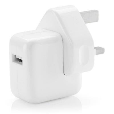 Genuine Apple 12W IPhone/iPad USB UK Wall Plug Quick Charger A1401 Tablet/Phone • 9.35£