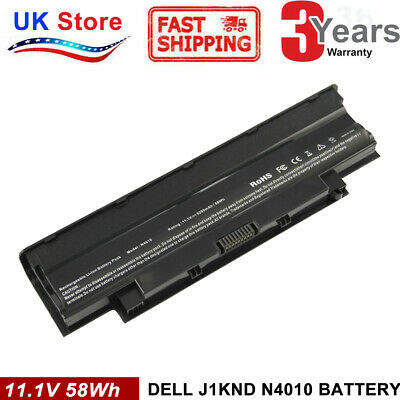 FOR DELL INSPIRON 15 N5030 M5030 N5040 M5040 N5050 M5050 BATTERY J1KND Fast Ship • 12.99£