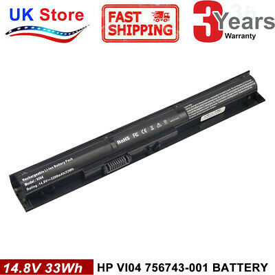 Battery For HP Pavilion 15 17 Notebook V104 756479-421 756743-001 Envy 14 15 PC • 12.49£