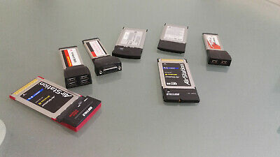 JOb Lot 7- PCMCIA Card/ Laptop Port Expansion Cards. • 20£