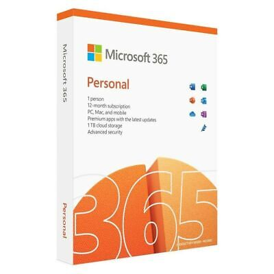 Microsoft Office 365 Personal - New Full Version - 5 PC Or Mac Or Extend Account • 44.95£