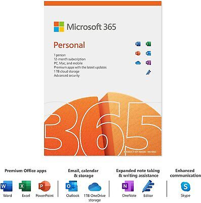 Microsoft Office 365 - 1 User / 5 Devices - 1 Year Subscription - Emailed Key • 41.65£