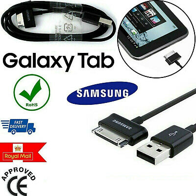 Genuine Samsung USB Data Charger Cable For Galaxy Tablet 7  8.9 10.1 P5110 Tab 2 • 2.99£