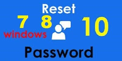 Windows XP Vista 7 8 10 Password Recovery Reset Remover Recover Tools  • 1.90£