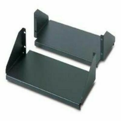 APC Double Sided Fixed Shelf For 2-Post Rack 250 Lbs (Black) • 144.11£