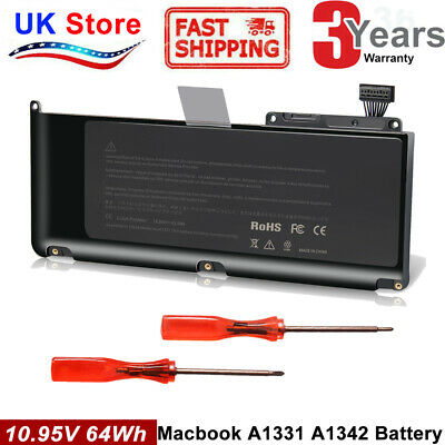 A1331 Battery For Apple MacBook Unibody 13  A1342 (Late 2009 Mid 2010) MC233LL/A • 20.99£