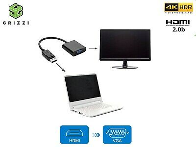 HDMI To VGA Converter Adapter For PC DVD TV Monitor - HDMI Input To VGA Output  • 4.49£