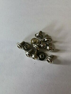 Silver PC Screw M3 5MM Pack Of 12 For Motherboards, DVD Drives And 2.5... • 2.09£