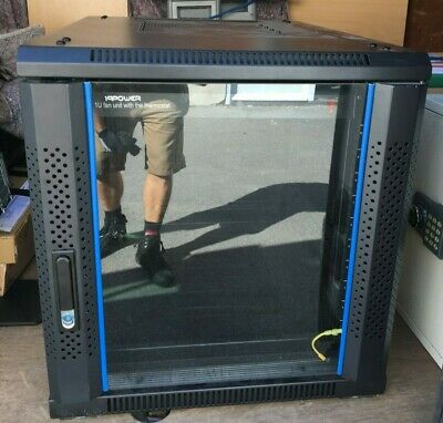 9U RACK/Cabinet With Thermostat , Wall Mounted, Brand New  • 150£