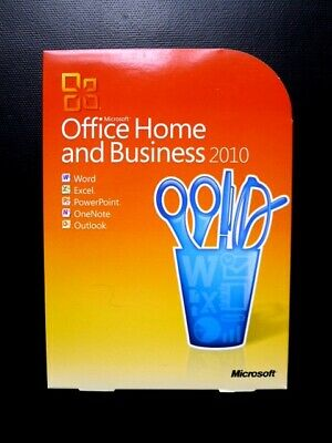 Microsoft Office 2010 Home And Business Word Outlook Excel PowerPoint (GENUINE) • 45£